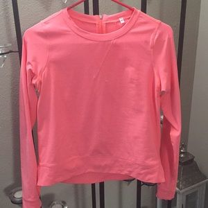 Coral lightweight pullover